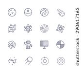 science icons | Shutterstock .eps vector #290617163