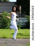 jump for joy | Shutterstock . vector #29064565