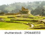 ingapirca ruins  the most... | Shutterstock . vector #290668553