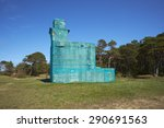 wrapped building | Shutterstock . vector #290691563