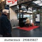paris  france   december 15 ... | Shutterstock . vector #290835827