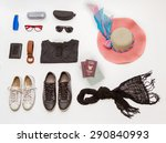 clothes and accessories go to... | Shutterstock . vector #290840993