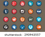 set of social icons.