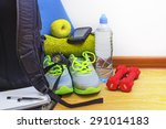 accessories for fitness | Shutterstock . vector #291014183