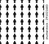 vector seamless pattern. tiling ... | Shutterstock .eps vector #291021683