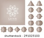 collection of labels  hang tags ... | Shutterstock .eps vector #291025103