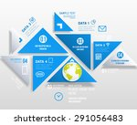 business design can be used for ... | Shutterstock .eps vector #291056483