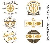 set of vintage logo  badge ... | Shutterstock .eps vector #291159707
