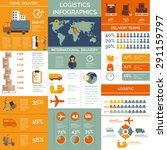 international logistic customer ... | Shutterstock .eps vector #291159797