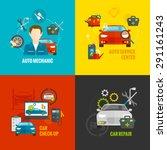 auto mechanic design concept... | Shutterstock .eps vector #291161243