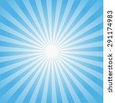 Sun Rays Illustration. Vector...