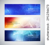 vector banners set with...