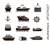 set of transportation and... | Shutterstock . vector #291270167
