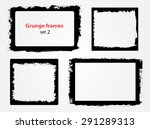 grunge frame.grunge background... | Shutterstock .eps vector #291289313