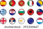 Europe Flag Icons 2. Set Of...