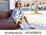outdoor lifestyle fashion... | Shutterstock . vector #291409853