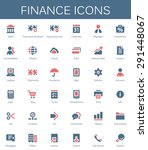 banking services and finance... | Shutterstock .eps vector #291448067
