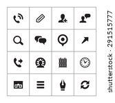 company icons universal set for ... | Shutterstock .eps vector #291515777