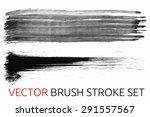design element.  vector brush... | Shutterstock .eps vector #291557567