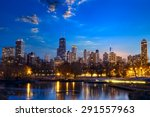 Chicago Skyline At Twilight  I...