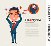 Smart Man Get Headache  ...
