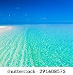 Beautiful Blue Sun Sea Tropica...