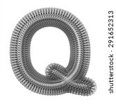 "3d ""metal"" creative decorative... | Shutterstock . vector #291652313"