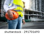 closeup photo of engineer with... | Shutterstock . vector #291701693