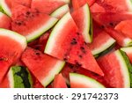 Water Melon Slices As A...