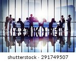 meeting seminar conference... | Shutterstock . vector #291749507