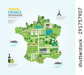 Infographic Travel And Landmar...