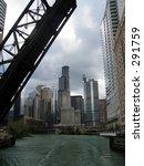 draw bridge  chicago river | Shutterstock . vector #291759