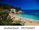 people enjoying the sun on the...   Shutterstock . vector #291769607