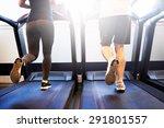 lower body shot of healthy... | Shutterstock . vector #291801557
