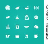 cooking icons universal set for ... | Shutterstock . vector #291820193