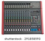 professional mixing console....   Shutterstock . vector #291858593