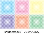 abstract pixel mosaic... | Shutterstock .eps vector #291900827