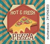 food digital design  vector... | Shutterstock .eps vector #291906353