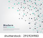abstract geometric vector... | Shutterstock .eps vector #291924983