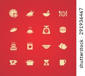 cooking icons universal set for ... | Shutterstock . vector #291936467