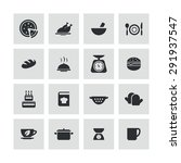 cooking icons universal set for ... | Shutterstock . vector #291937547