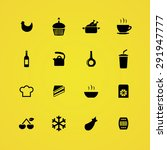 cooking icons universal set for ... | Shutterstock . vector #291947777