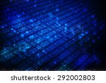binary technology background | Shutterstock . vector #292002803