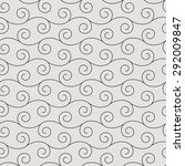 seamless pattern in arabic... | Shutterstock .eps vector #292009847