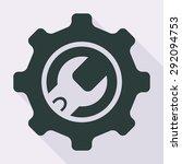 gear icon | Shutterstock .eps vector #292094753