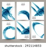 vector web and mobile interface ... | Shutterstock .eps vector #292114853