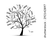 art tree beautiful for your... | Shutterstock .eps vector #292142897