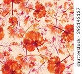 crazy beautiful imprint... | Shutterstock .eps vector #292143137