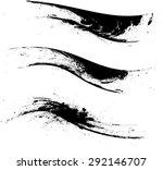 grunge borders   dividers or... | Shutterstock .eps vector #292146707