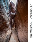 Small photo of Dry Fork Narrows of Coyote Gulch